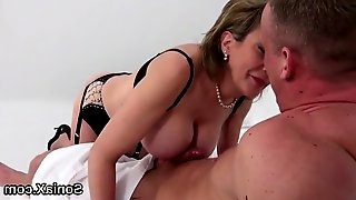 Cheating english mature gill ellis unveils her big hooters