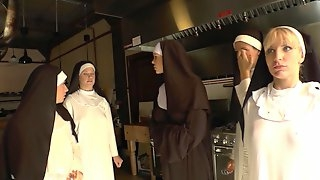 Nasty Nun Gets Hardcore Fucked By A Guy With A Foot Fetish