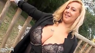 Big tits french milf